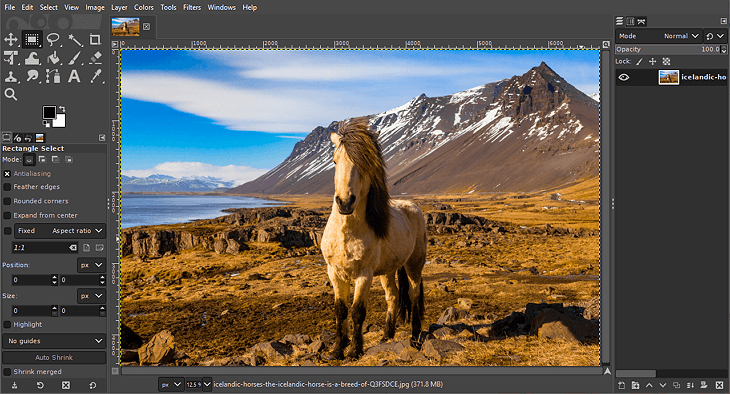 GIMP - best photo editors for beginners