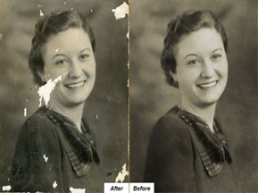 How to Restore an Old Photo